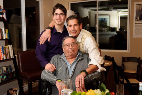 Dad, Gianni & I